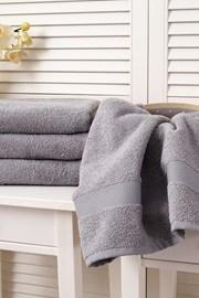 Ręcznik Adria jasnoszary