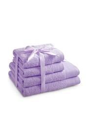 Komplet ręczników Amari lila