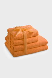 Komplet ręczników Amari pomarańczowy