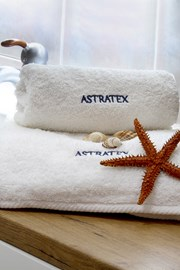 Prezentowy komplet ręczników Astratex - biały