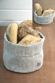 Lniany koszyk na pieczywo Home Design