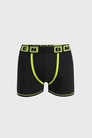 Czarno-zielone bokserki Bellinda Bmen