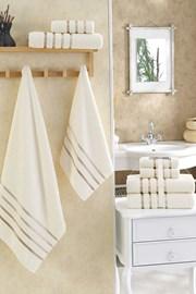 Komplet ręczników Bale kremowy