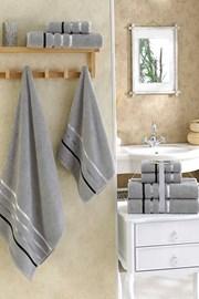 Komplet ręczników Bale szary