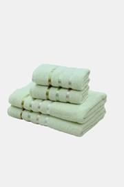Komplet ręczników Bale jasnozielony
