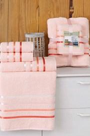 Komplet ręczników Bale pudrowy
