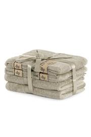 Komplet bambusowych ręczników Bamby beżowy