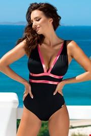 Jednoczęściowy damski kostium kąpielowy Beryl Black Rose