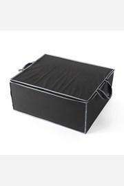 Tekstylne pudło do przechowywania czarne