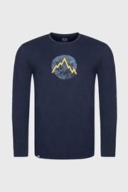 Niebieski T-shirt LOAP Albert