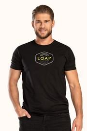 Czarny T-shirt LOAP Benson