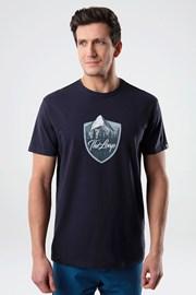 Niebieski T-shirt LOAP Alesh