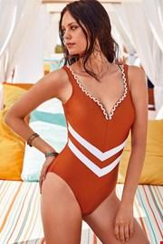 Jednoczęściowy damski kostium kąpielowy Georgette
