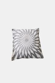 Poduszka dekoracyjna Mandala szara