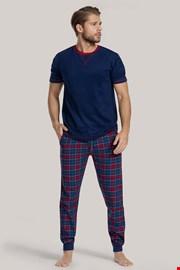 NIebieska piżama Cooper