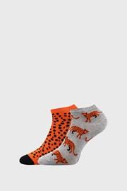 2 PACK damskich skarpetek Leopard