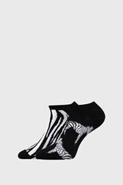 2 PACK damskich skarpetek Zebra