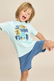 Chłopięca piżama Lizard