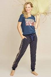Damskie spodnie do spania Navy