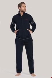Komplet: niebieska bluza i spodnie sportowe Louie PLUS SIZE