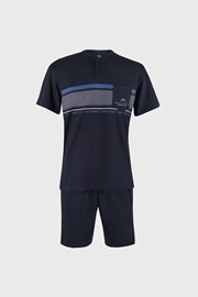 Granatowa piżama Rod