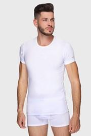 Biały bawełniany T-shirt PLUS SIZE