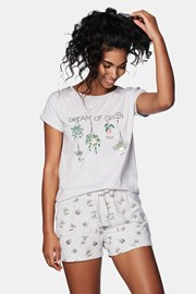 Damska piżama Green