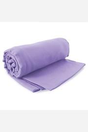Komplet szybkoschnących ręczników Ekea lila