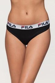Damskie czarne figi FILA Underwear String