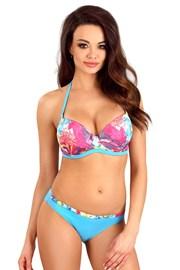 Dwuczęściowy damski kostium kąpielowy Flowers Push-Up