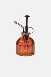 Szklany spryskiwacz brązowy