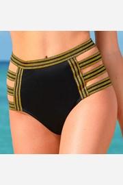 Dolna część damskiego kostiumu kąpielowego Galaxy z wysokim stanem