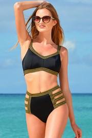 Dwuczęściowy damski kostium kąpielowy Galaxy czarny