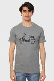 Szary T-shirt Rider