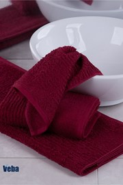 Ręcznik VEBA Juvel bordowy