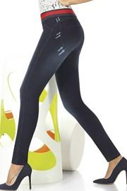 Damskie legginsy z dżinsowym wzorem Maddie