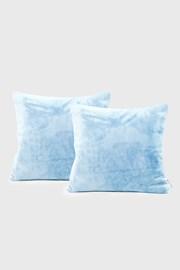 Komplet 2 szt. poszewek na poduszki jasnoniebieski