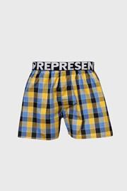 Niebiesko-żółte szorty Represent Classic Mike