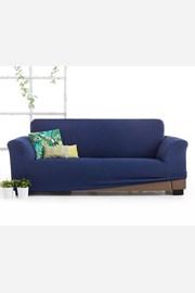 Pokrowiec na trzyosobową sofę Milos niebieski