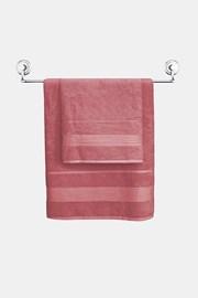 Bambusowy ręcznik Moreno różowy