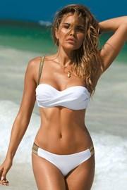 Dwuczęściowy damski kostium kąpielowy Grace White