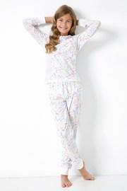 Dziewczęca piżama Jednorożec