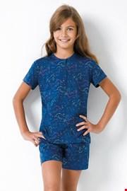 Dziewczęca piżama Jednorożec II niebieska