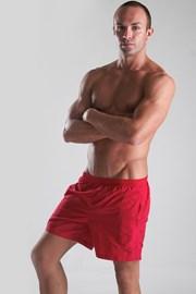 Męskie szorty kąpielowe czerwone