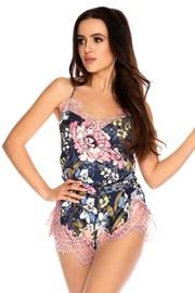 Damska satynowa piżama Elen krótka