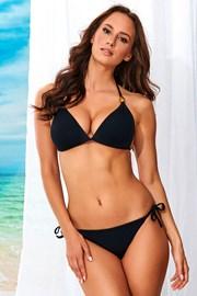Dwuczęściowy kostium kąpielowy Alma Black bez fiszbinów