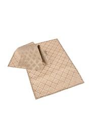 Nakrycia na stół: komplet 2 szt. brązowe we wzory