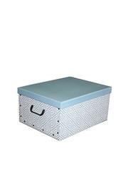 Składane pudło do przechowywania Nordic niebieskie