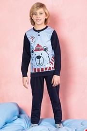 Chłopięca piżama Bear niebieska