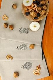 Bożonarodzeniowy komplet prezentowy haftowanych ścierek